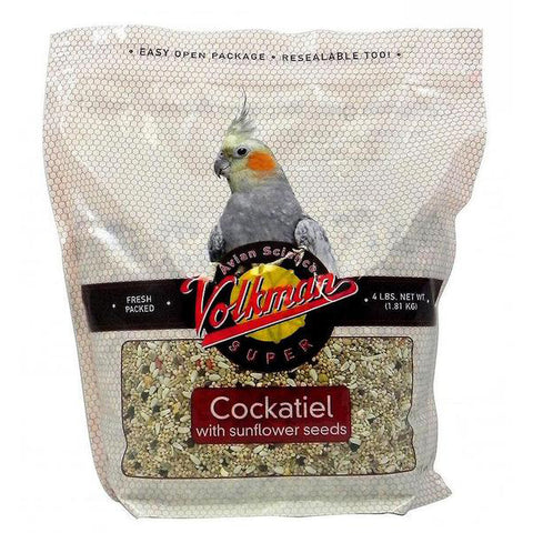 Avian Science Super Cockatiel with Sunflower Seeds Bird Food