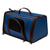 Come Along Small Animal Travel Carrier with Handle & Zippers
