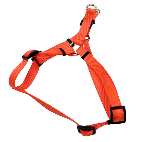 Comfort Wrap Adjustable Nylon Harness Sunset Orange