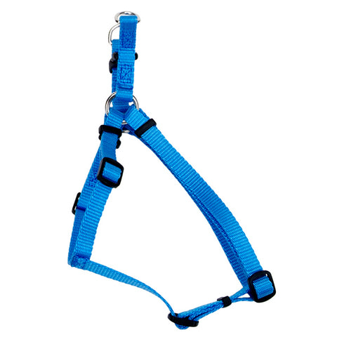 Comfort Wrap Adjustable Nylon Harness Blue Lagoon
