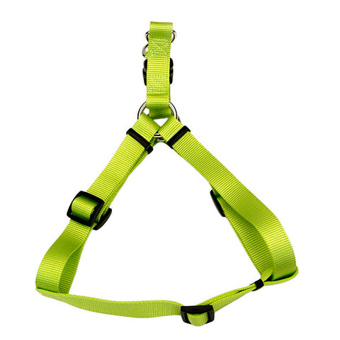Comfort Wrap Adjustable Nylon Harness Lime