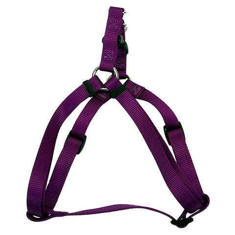 Comfort Wrap Adjustable Nylon Harness Purple