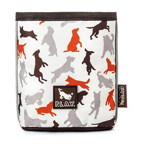 Training Treat Pouch Vanilla Dog Training Accessory