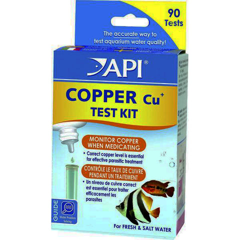 Copper ( Cu ) Freshwater & Saltwater Aquarium Test Kit