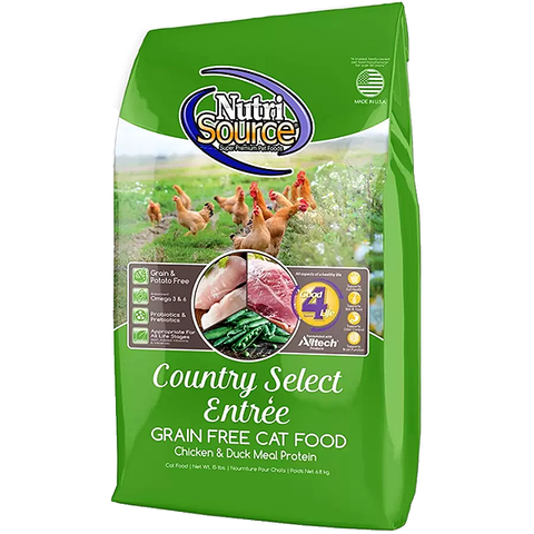 Country Select Entree Grain-Free Adult Dry Cat Food