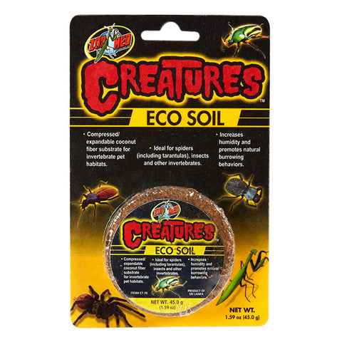 Creatures Eco Soil Compressed Coconut Fiber Substrate