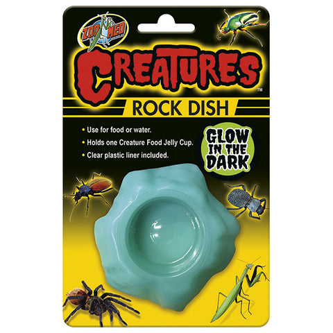 Creatures Glow In The Dark Invertibrate Rock Dish