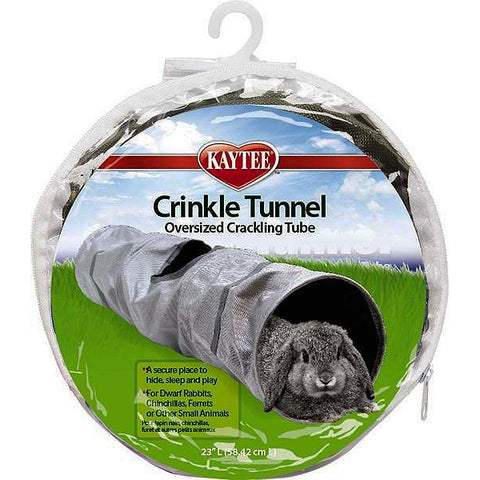 Crinkle Tunnel Oversized Crackling Small Animal Play Tube