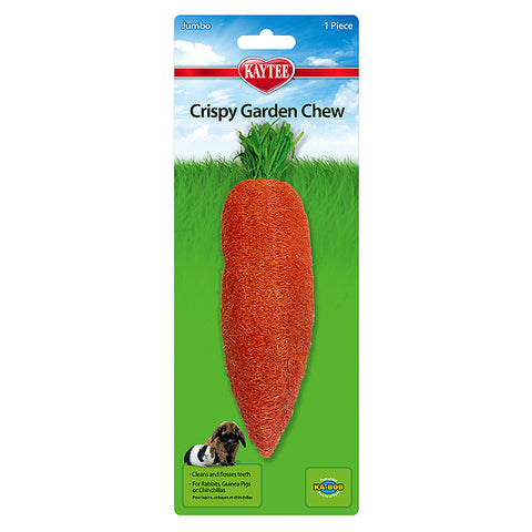 Crispy Carrot Garden Loofah Small Animal Chew Toy