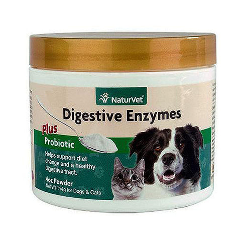 Digestive Enzymes Plus Probiotic Dog & Cat Supplement Powder