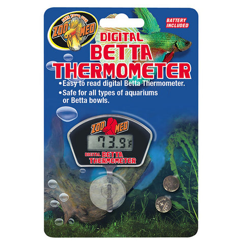 Digital Betta Thermometer Aquarium Temperature Monitoring
