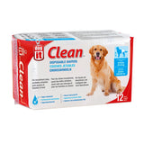Clean Disposable Dog Diapers White 12 Pack