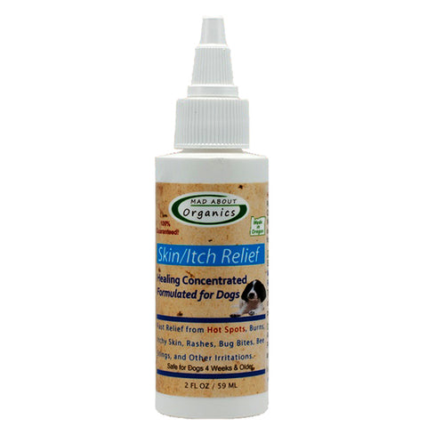 Organic Skin Itch Relief Dog Healing Drops
