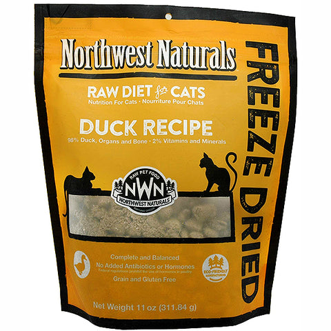 Nibbles Duck Formula Freeze-Dried Raw Cat Food