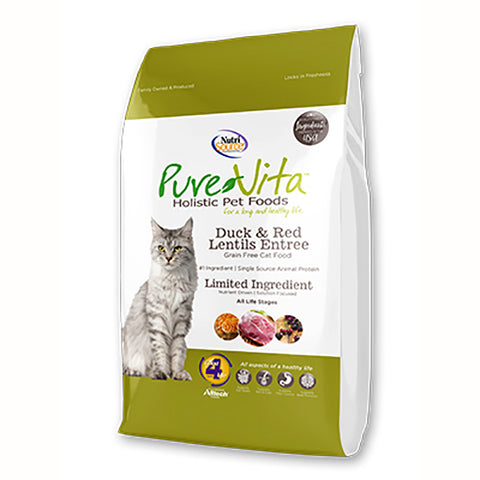Duck & Red Lentils Entrée Grain-Free Dry Cat Food