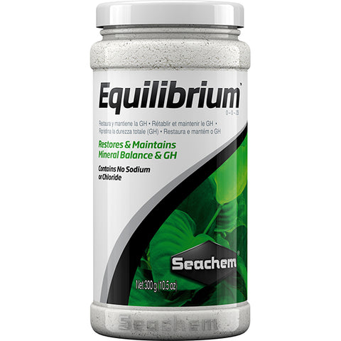 Equilibrium Mineral Balance & General Hardness Aquarium Water Treatment Powder
