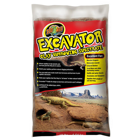 Excavator Clay Burrowing Reptile Substrate