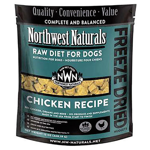 Nuggets Chicken Formula Freeze-Dried Raw Dog Food