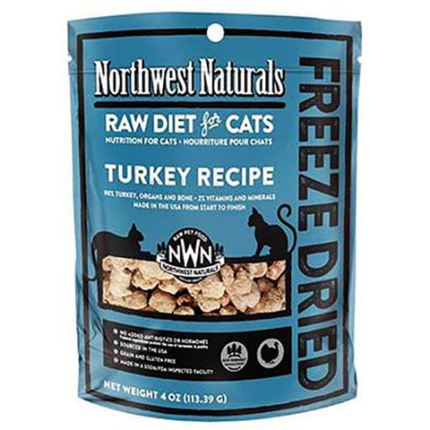 Nibbles Turkey Formula Freeze-Dried Raw Cat Food