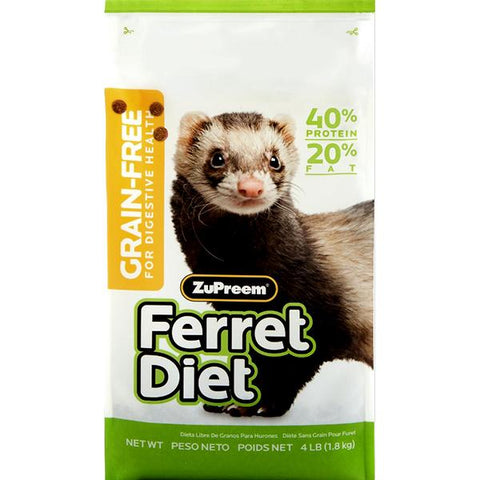 Ferret Diet Grain-Free Dry Food Pellets