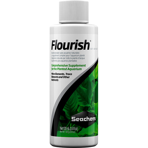 Flourish Aquarium Plant Supplement Water Treatment Liquid