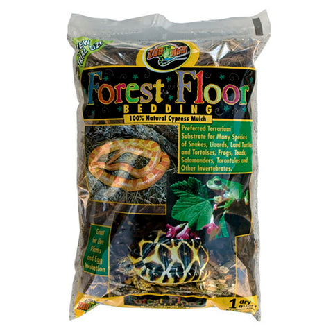 Forest Floor Bedding Natural Cypress Mulch Reptile