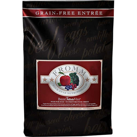 Four-Star Nutritionals Beef Frittata Veg Grain-Free Dry Dog Food
