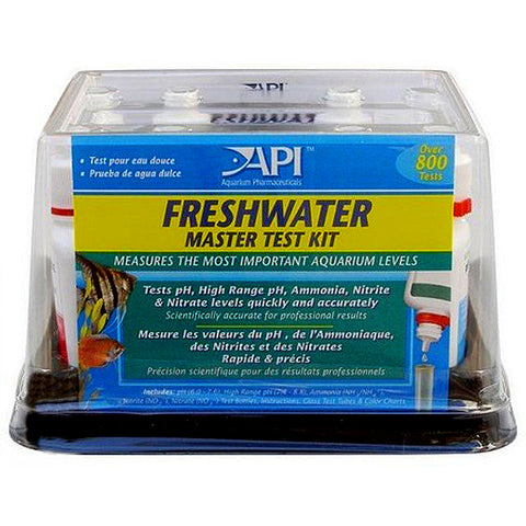 Freshwater Aquarium Master Test Kit