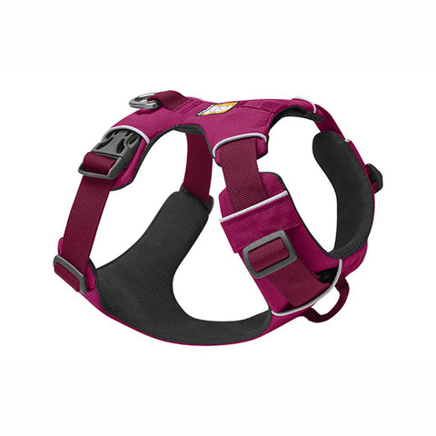 Front Range Everyday Padded Dog Harness Hibiscus Pink