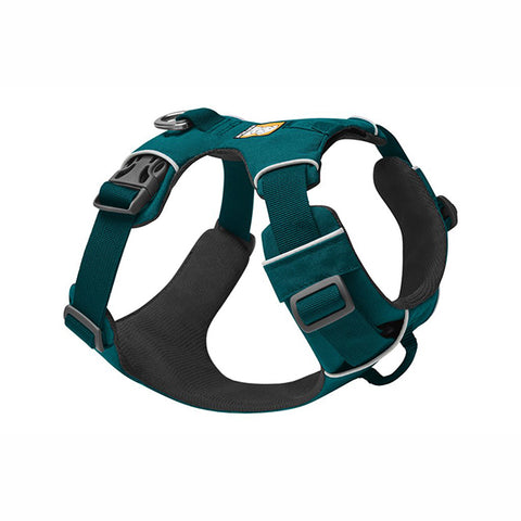 Front Range Everyday Padded Dog Harness Tumalo Teal