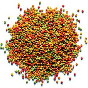 fruit blend flavor bird food pellets for very small birds pets on