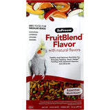 Fruit Blend Flavor Bird Food Pellets For Medium Birds