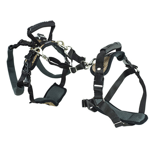 Solvit CareLift Full-Body Lifting Support Harness for Dogs Black