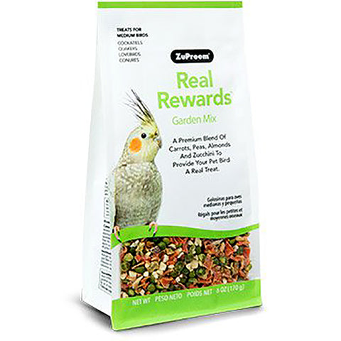 Real Rewards Garden Mix Medium Bird Treats