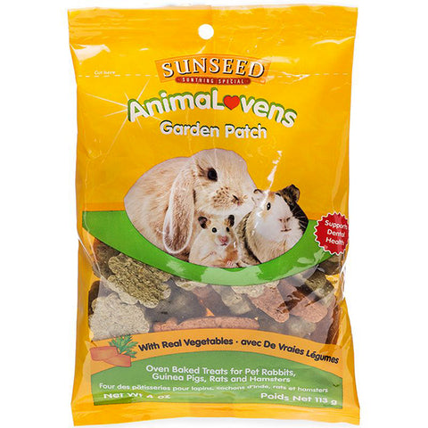 AnimaLovens Garden Patch Oven Baked Small Animal Treats