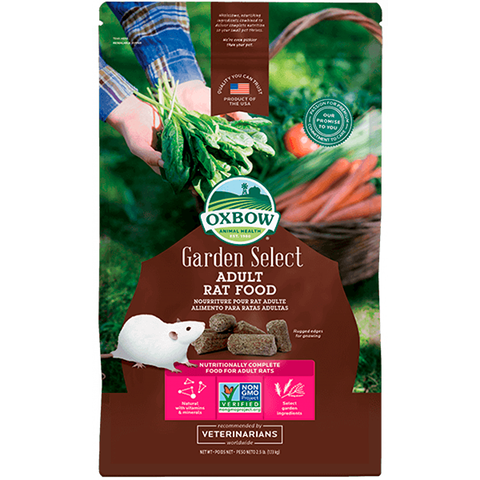 Garden Select Pelleted Adult Rat Food