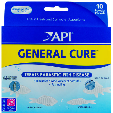 General Cure Parasite Treatment Aquarium Powder