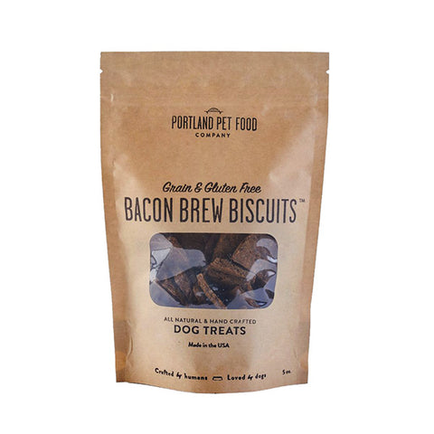 Bacon Brew Biscuits Grain-Free Dog Treats