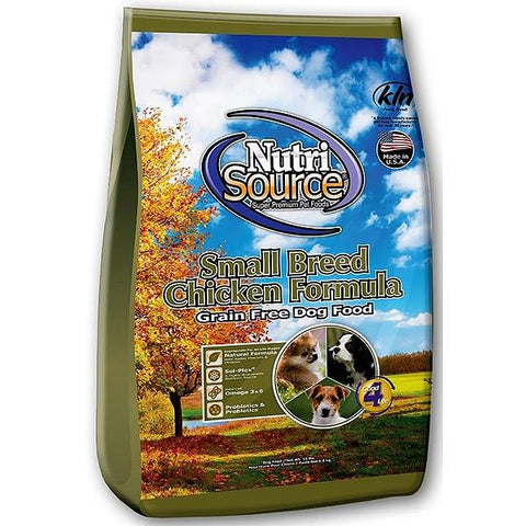 Chicken & Pea Formula Grain-Free Small Bites Adult Dry Dog Food