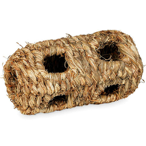 Nature's Hideaway Grass Tunnel Woven Small Animal Hideout