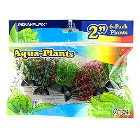 Bag of Green Plastic Artificial Aquarium Plants