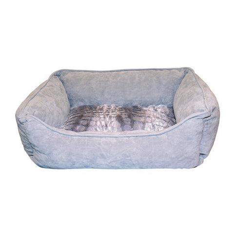 Cuddle Bed Soft Nest Dog Bed Wild Animal Grey