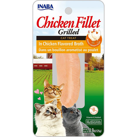 Grilled Chicken Fillet in Chicken Broth Cat Treat