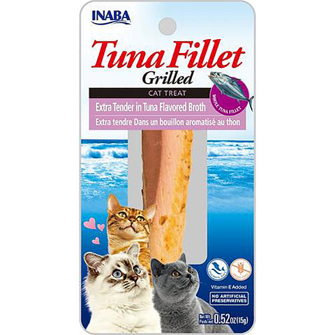 Grilled Tuna Fillet Extra Tender in Tuna Broth Cat Treat