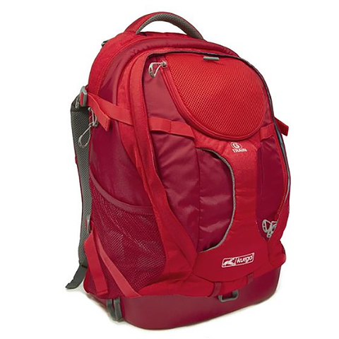 G-Train Dog Carrier Travel Backpack Red