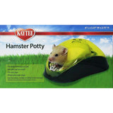 Hamster Potty Station Plastic Enclosed Small Animal Litter Pan