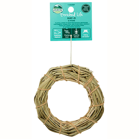 Enriched Life Hay-O Small Animal Hanging Chew & Toy