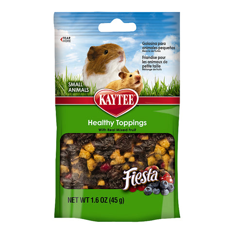 Fiesta Healthy Toppings with Real Mixed Fruit Small Animal Treat