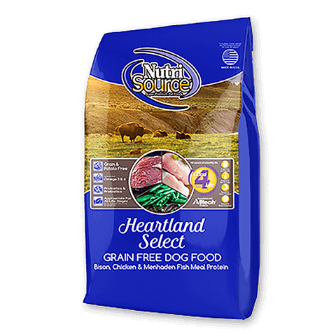 Heartland Select Grain-Free Bison Dry Dog Food
