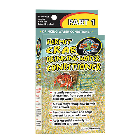Hermit Crab Drinking Water Conditioner Chlorine Remover (Part 1)